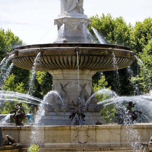 Fontaine à Aix-en-Provence